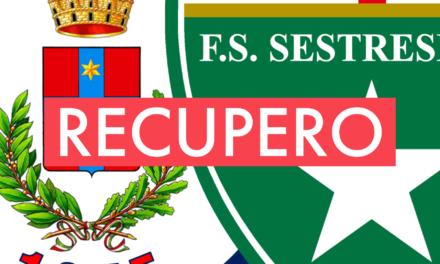Promozione A, 12ª giornata: il recupero CAMPOROSSO-SESTRESE