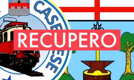 Seconda D: il recupero CASELLESE-MASONE