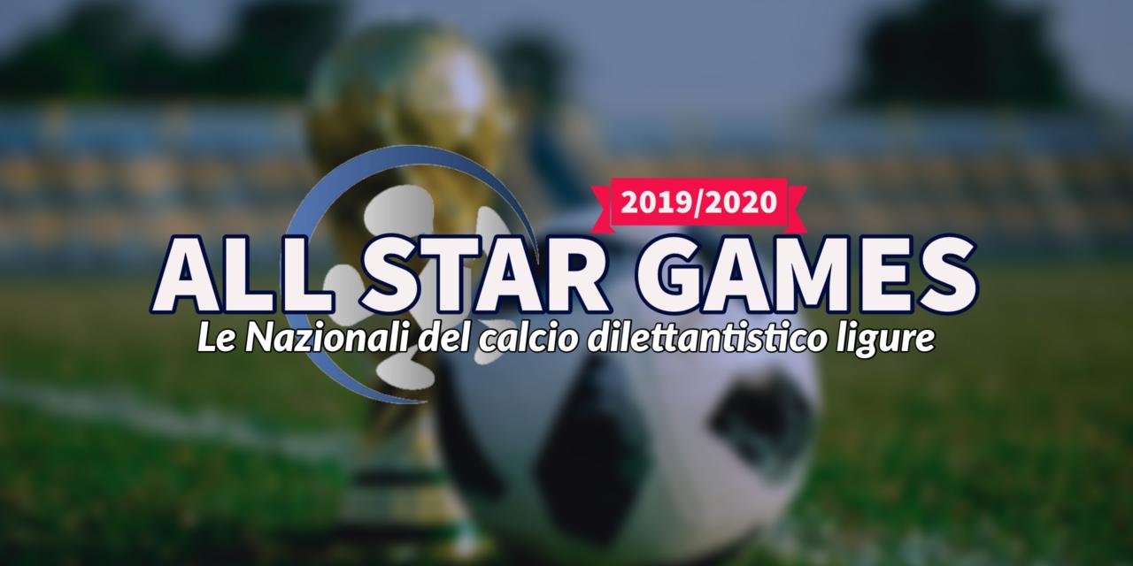 ALL STAR GAMES 2020: le Nazionali del calcio dilettantistico ligure