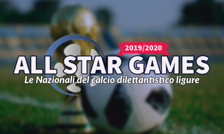 ALL STAR GAMES 2020: le Nazionali del calcio dilettantistico ligure
