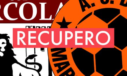 Prima Categoria D, 11ª giornata: il recupero ARCOLA GARIBALDINA-MAROLACQUASANTA
