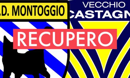 Seconda C: il recupero MONTOGGIO-VECCHIO CASTAGNA