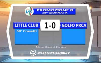 little club james – golfo prca 1 – 0: highlights della partita + interviste