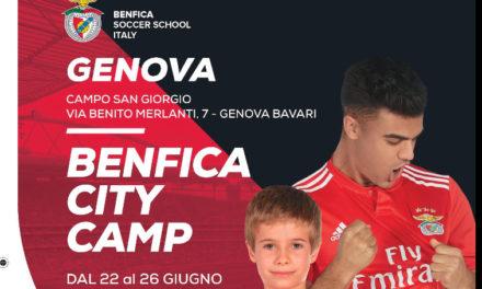 Il Benfica sbarca a Bavari con il city camp!