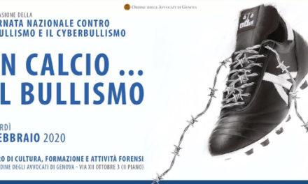 """UN CALCIO… AL BULLISMO"""