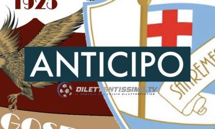 DIRETTA LIVE – Serie D, l'anticipo BORGOSESIA-SANREMESE