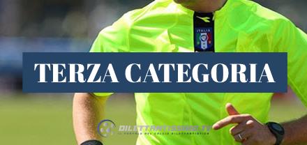 TERZA CATEGORIA: Le designazioni arbitrali