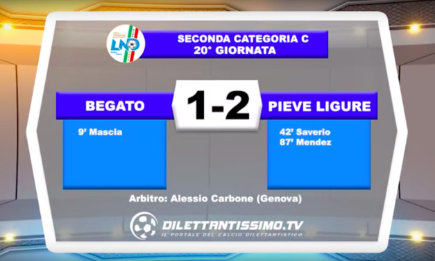 BEGATO – PIEVE: HIGHLIGHTS DELLA PARTITA