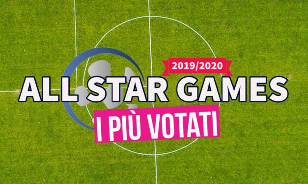 ALL STAR GAMES: i piu' votati di PRIMA B
