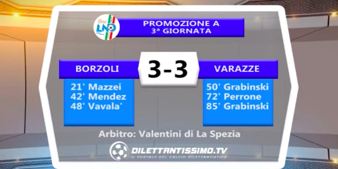 Accadde il… 25/09/16: Borzoli-Varazze 3-3