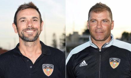 Ospedaletti: restano in orange Andrea Caffara e Giuseppe Messina
