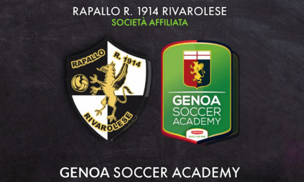 Rapallo Rivarolese: i ruentini diventano società affiliata al Genoa