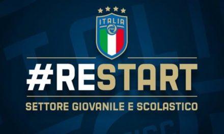 Ripartire dal campo: il Settore Giovanile e Scolastico lancia la campagna #RESTART