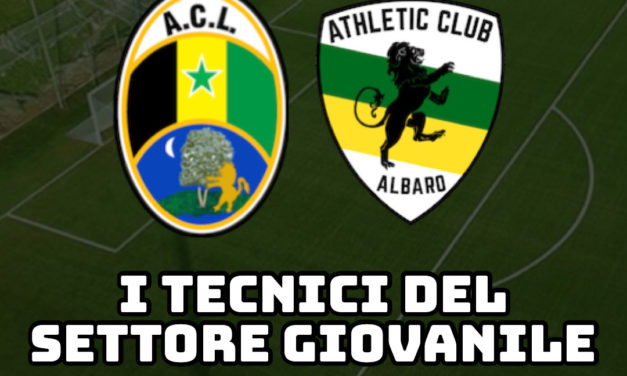 L'Athletic Club ufficializza i tecnici del settore giovani