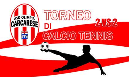 Olimpia Carcarese: torneo di calcio-tennis!