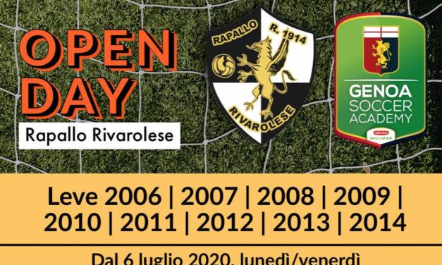 Rapallo Rivarolese: lunedì partono gli Open Day al Torbella