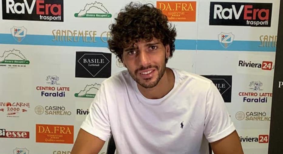 Sanremese, ha firmato l'attaccante Romano