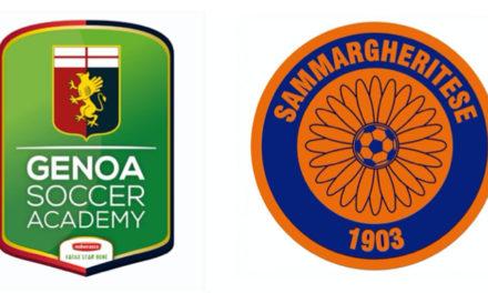 Sammargheritese, raggiunto accordo di affiliazione con il Genoa CFC