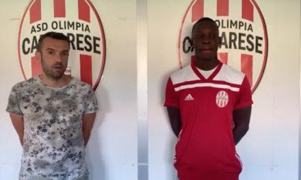Olimpia Carcarese, preso Ndiaye: «Quest'anno sarà una battaglia»