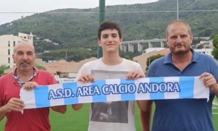Andora, Gioele Macrì aggregato alla prima squadra