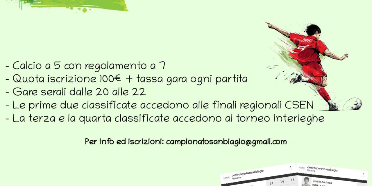 Campionato Calcio a 5 San Biagio