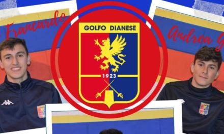 Golfo Dianese: tre giovani del vivaio aggregati alla prima squadra