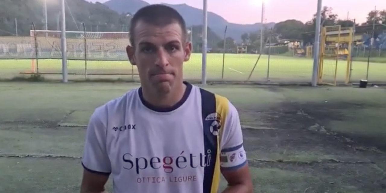 VIDEO – Borzoli, intervista a capitan Ventura: «Era importante partire con il piede giusto»