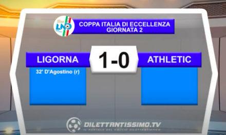 Coppa Italia Eccellenza: Ligorna – Athletic club 1-0 gli highlights della partita