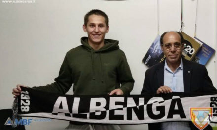 Albenga: tesserato il giovane classe 2002 Riccardo Franco