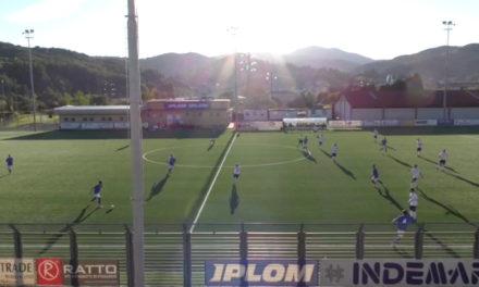 Coppa Italia Eccellenza: Busalla-Ligorna 2-2 gli highlights della partita
