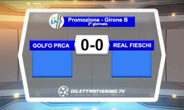 VIDEO – GOLFO PRCA-REAL FIESCHI 0-0: le immagini del match