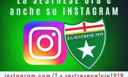 La Sestrese sbarca su Instagram