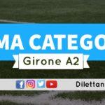 DIRETTA LIVE – PRIMA CATEGORIA A2, 4ª giornata: risultati e classifica
