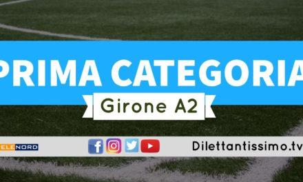 DIRETTA LIVE – PRIMA CATEGORIA A2, 3ª GIORNATA: risultati e classifica