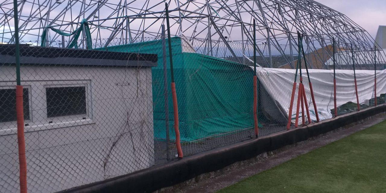 Vento e piogge distruggono campi in Liguria
