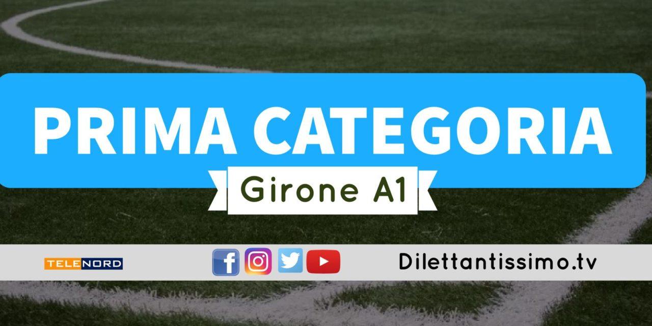 DIRETTA LIVE – PRIMA CATEGORIA A1, 4ª giornata: risultati e classifica