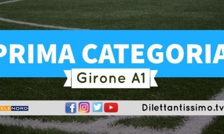 DIRETTA LIVE – PRIMA CATEGORIA A1, 1ª GIORNATA: RISULTATI E CLASSIFICA
