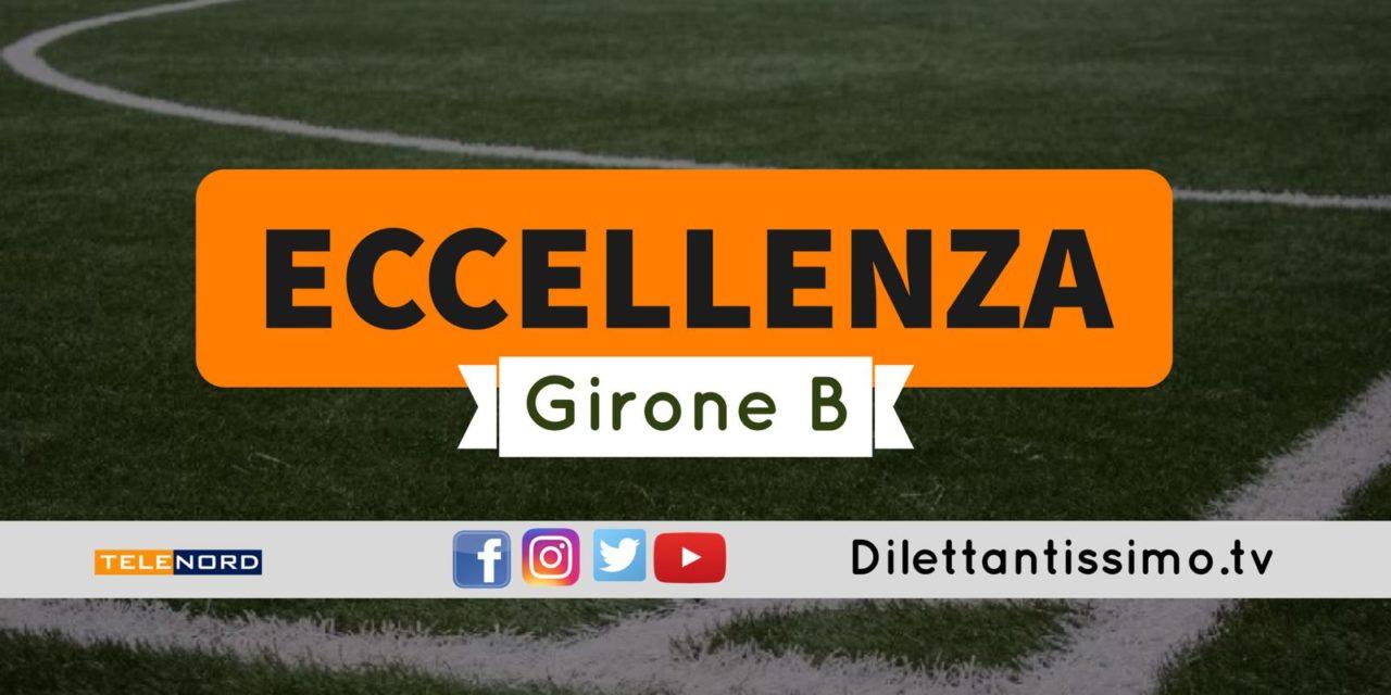 DIRETTA LIVE – ECCELLENZA GIRONE B, 4ª GIORNATA: RISULTATI E CLASSIFICA