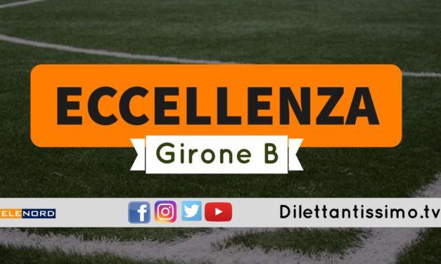 DIRETTA LIVE – ECCELLENZA GIRONE B, 5ª GIORNATA: RISULTATI E CLASSIFICA
