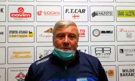 """CAMPOMORONE, Mister Pirovano:"""" partita difficile, fortunatamente abbiamo trovato il gol"""""""