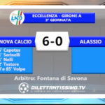VIDEO – GENOVA CALCIO – ALASSIO 6-0: le immagini del match e le interviste