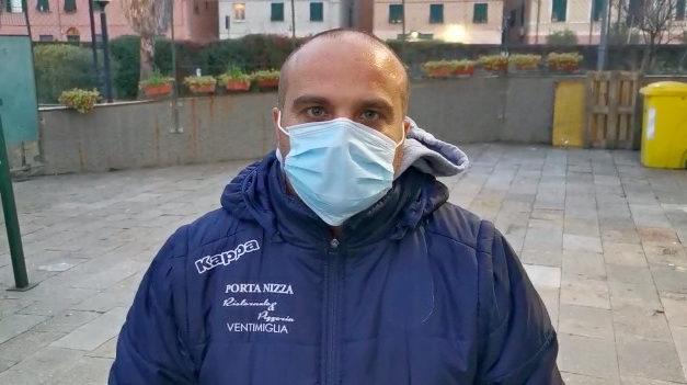 """Ventimiglia, Luccisano:""""campo difficile, prmo tempo combattuto"""""""