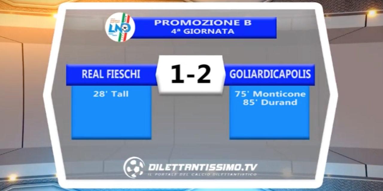 VIDEO – Real Fieschi-Goliardicapolis 1-2: le immagini del match e le interviste
