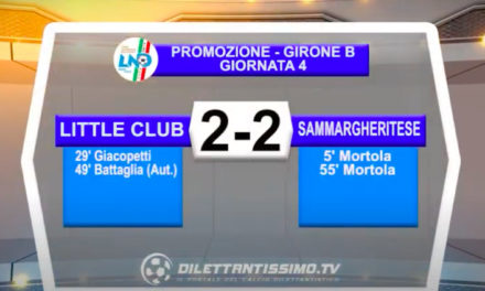 Little Club James-Sammargheritese 2-2: le immagini del match