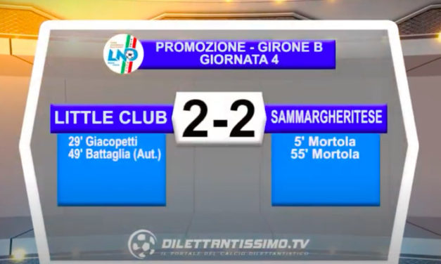 Little Club James-Sammargheritese 2-2: le immagini del match