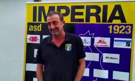 """Imperia, Lupo:""""tanta qualità contro una squadra che gioca il miglior calcio della Serie D"""""""