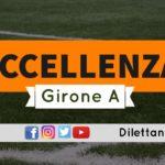 DIRETTA LIVE – ECCELLENZA GIRONE A, 6ª GIORNATA: RISULTATI E CLASSIFICA