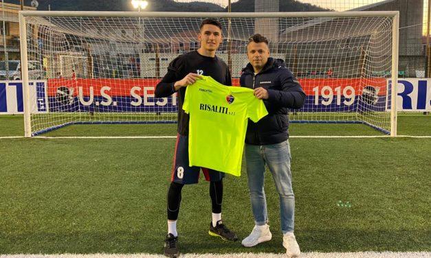 Sestri Levante: Daniel Salvalaggio sarà il nuovo portiere della squadra