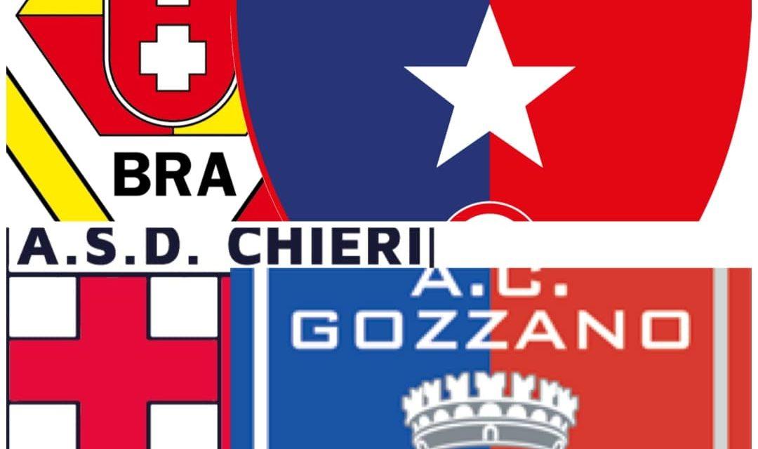DIRETTA LIVE – SERIE D GIRONE A, I RECUPERI DI 6ª E 8ª GIORNATA, BRA-VADO; CHIERI-GOZZANO