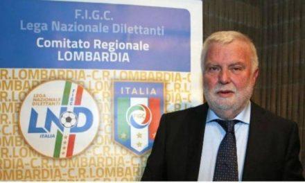 LND LOMBARDIA, Baretti: Fermiamo Tavecchio